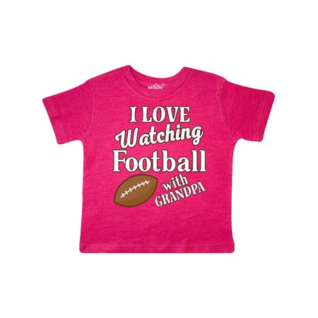 I Love Watching Football With Grandpa Toddler