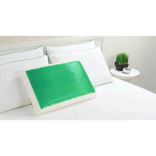 green waves gel bed pillow 218 0a wave gel bed pillow walmart com rh walmart com
