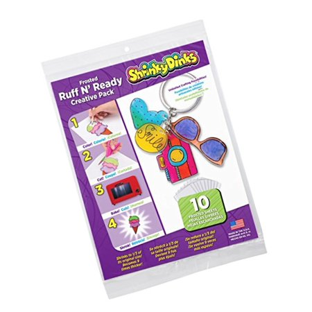 Drink Jewelry (Shrinky Dinks Creative Pack 10 Sheets Frosted Ruff n')