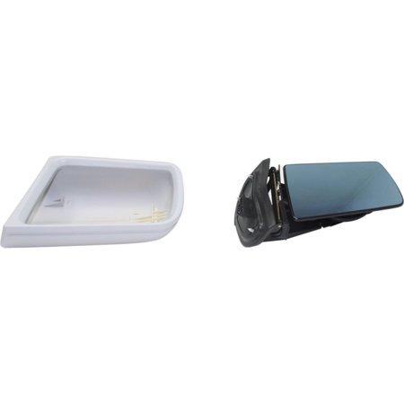 Kool Vue Mirror - MZ14EL - Driver Side, Power, Manual Folding, Paint to Match