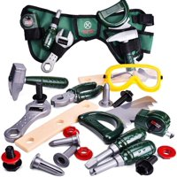Kids Tool Set-23 Pieces, Including Pretend Play Construction Tool Accessories and a Reinforced Kids Tool Belt