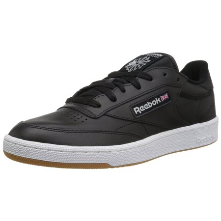 b0d82dad1c1c0d Reebok - Reebok AR0458  Club C 85 Mens Black White Gum Sneaker (10.5 D(M)  US Men) - Walmart.com