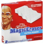 Mr. Clean Magic Eraser, Extra Power 2 ea