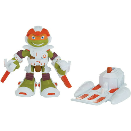 Space Michelangelo With Hoverboard