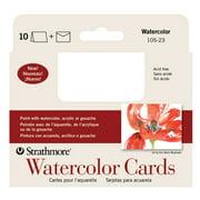 Watercolor Cards, 3.5in x 4.875in, 10/Pkg.
