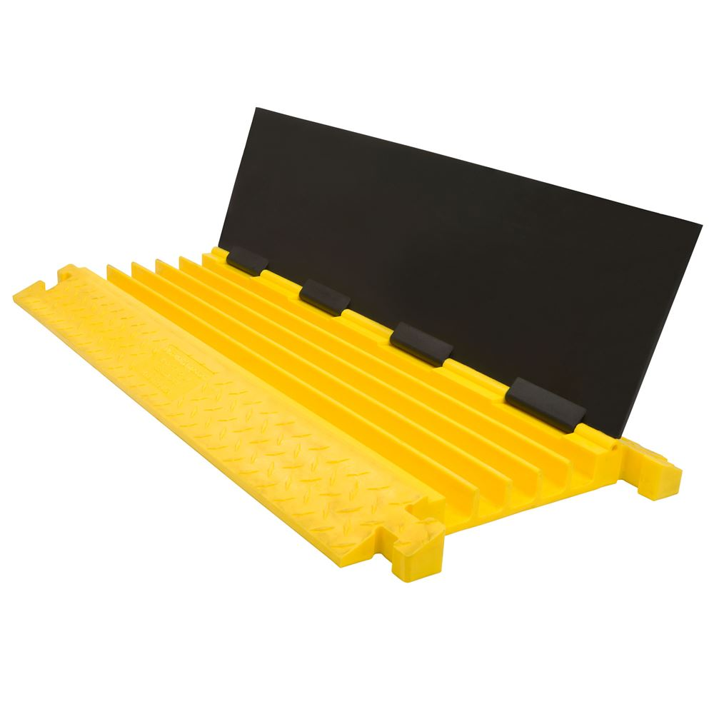 Guardian 5-Channel Polyurethane Cable Protector Ramp