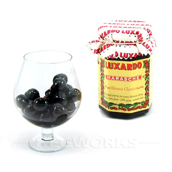 Luxardo Gourmet Maraschino Cherries 400g Jar AMZ by