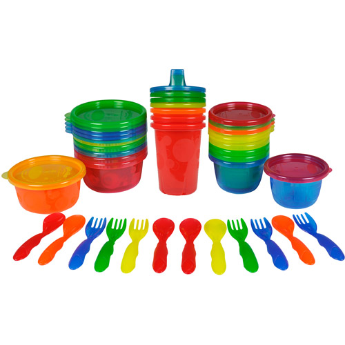 The First Years Take & Toss 28 Piece Variety Bag, BPA-Free