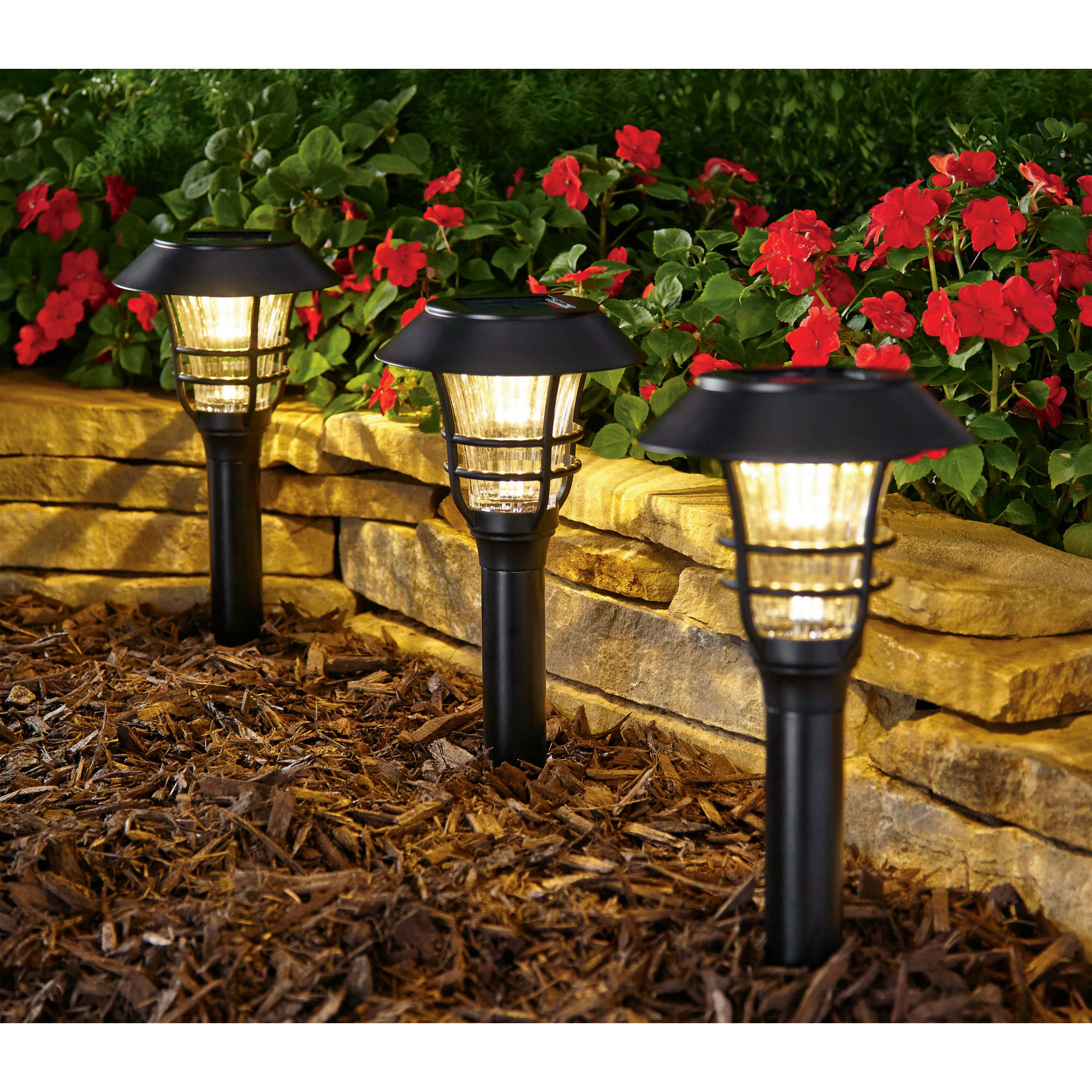 Better Homes and Gardens Avalon Solar-Powered Landscape Light Set by SKY RICH STAR LIMITED
