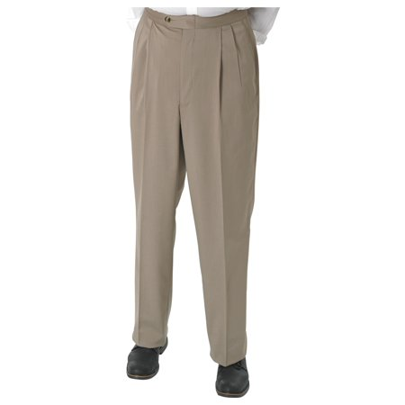 on comfort haggar waist shop s twill pants comforter men dress deals mens