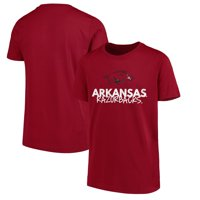 Arkansas Razorbacks Youth Crew Neck T-Shirt - Cardinal