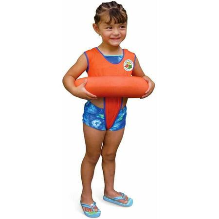 Poolmaster Orange Learn-To-Swim⢠Tube Trainer Swim Training Gear