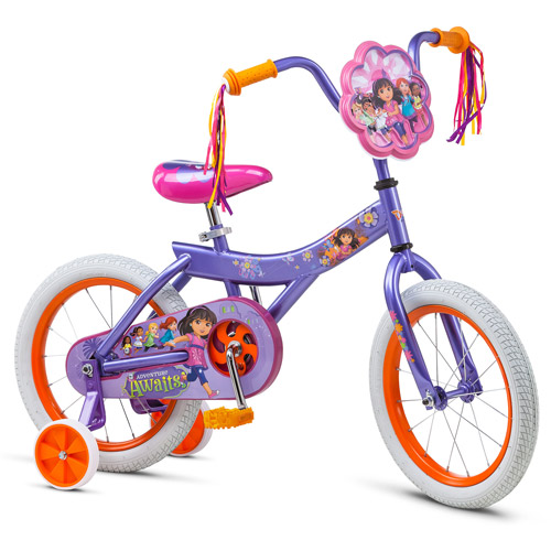"16"" Nickelodeon Dora and Friends Girls' Bike by Generic"