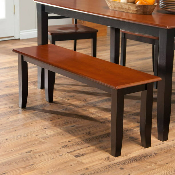 Boraam Bloomington Dining Bench - Black/Cherry