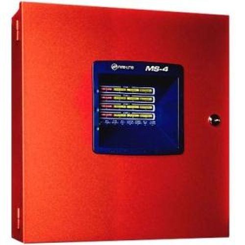 Fire-Lite Alarms Honeywell MS4 4 Zone Fire Control Panel