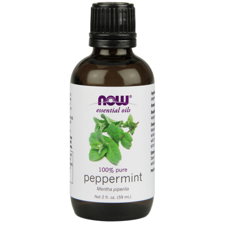 NOW Pure Essential Oils, Peppermint, 2 Oz