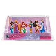 Disney Princess 6-Piece PVC Figure Play Set [Ariel, Belle, Pocahontas, Mulan, Jasmine, & Rapunzel]