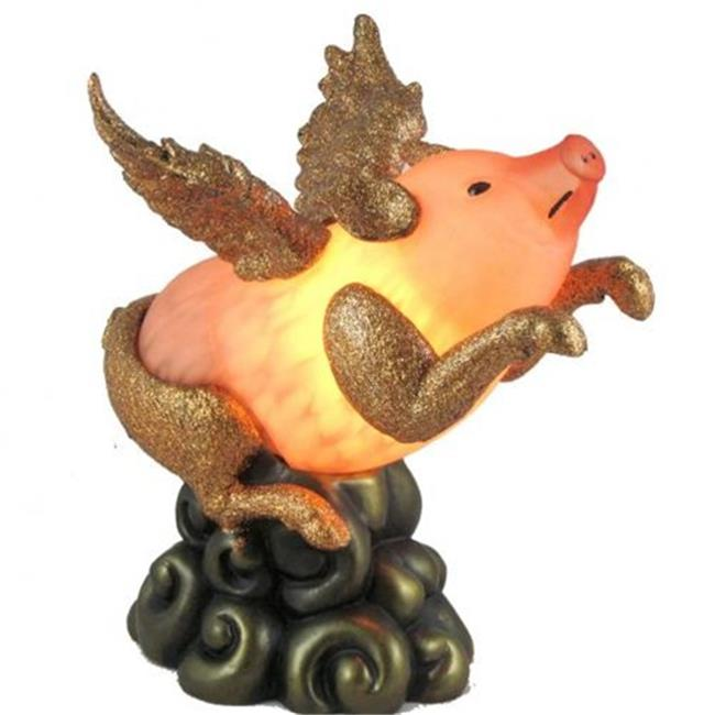 Standard Specialty 1603 Pretty Flying Pig Table Lamp