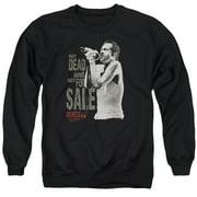 Scott Weiland Not Dead Mens Crew Neck Sweatshirt