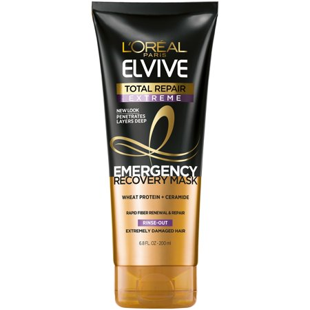 Absolute Repair Mask - L'Oreal Paris Elvive Total Repair Extreme Emergency Recovery Mask, 6.8 fl. oz.