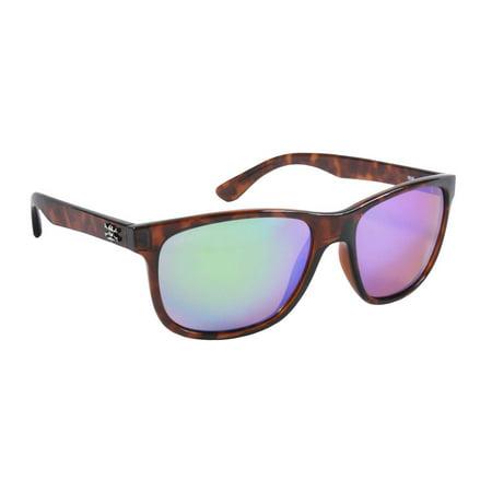 Calcutta Fishing CT1GMTORT Catalina Sunglasses, Tortoise Frame, Green Lens ()