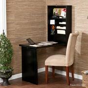 Leo Fold-Out Convertible Desk-Black