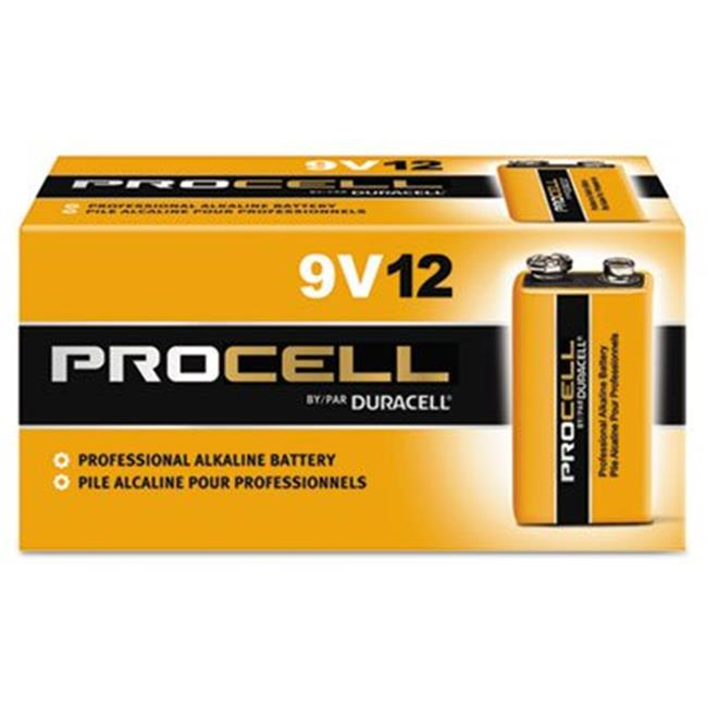 Duracell 243-PC1604BKD 9 Volt Industrial Alkaline Battery