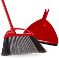 O-Cedar Power Corner Multi Surface Angle Broom With Dust Pan by Brooms