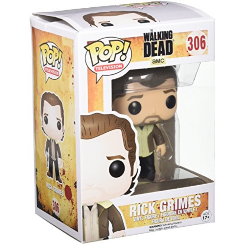 Funko Pop TV: Walking Dead Season 5 Rick Grimes Action Figure