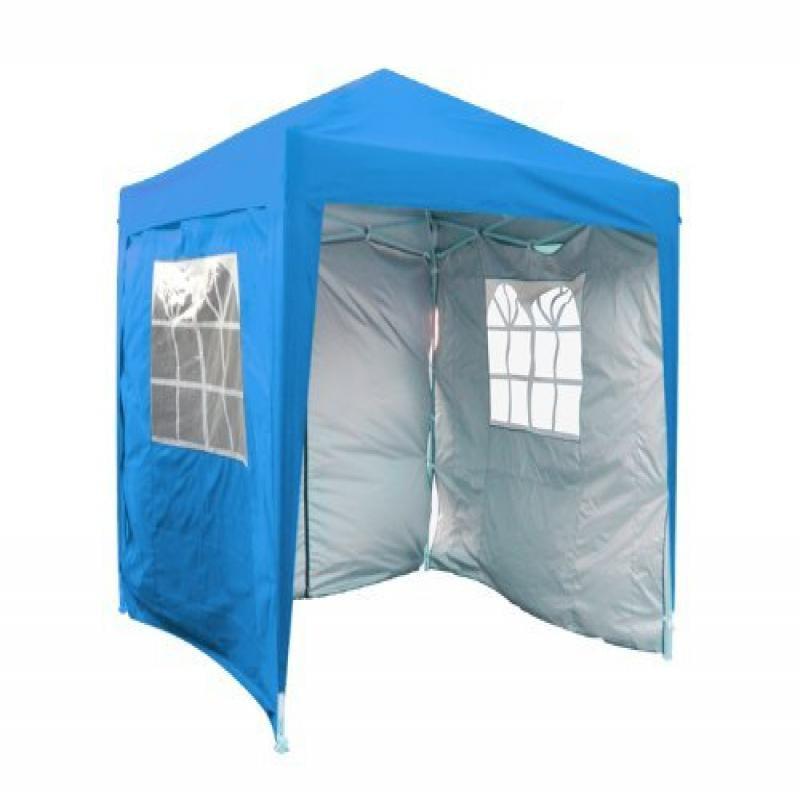 8' x 8' SilvoxGM Pop Up Canopy Light Blue