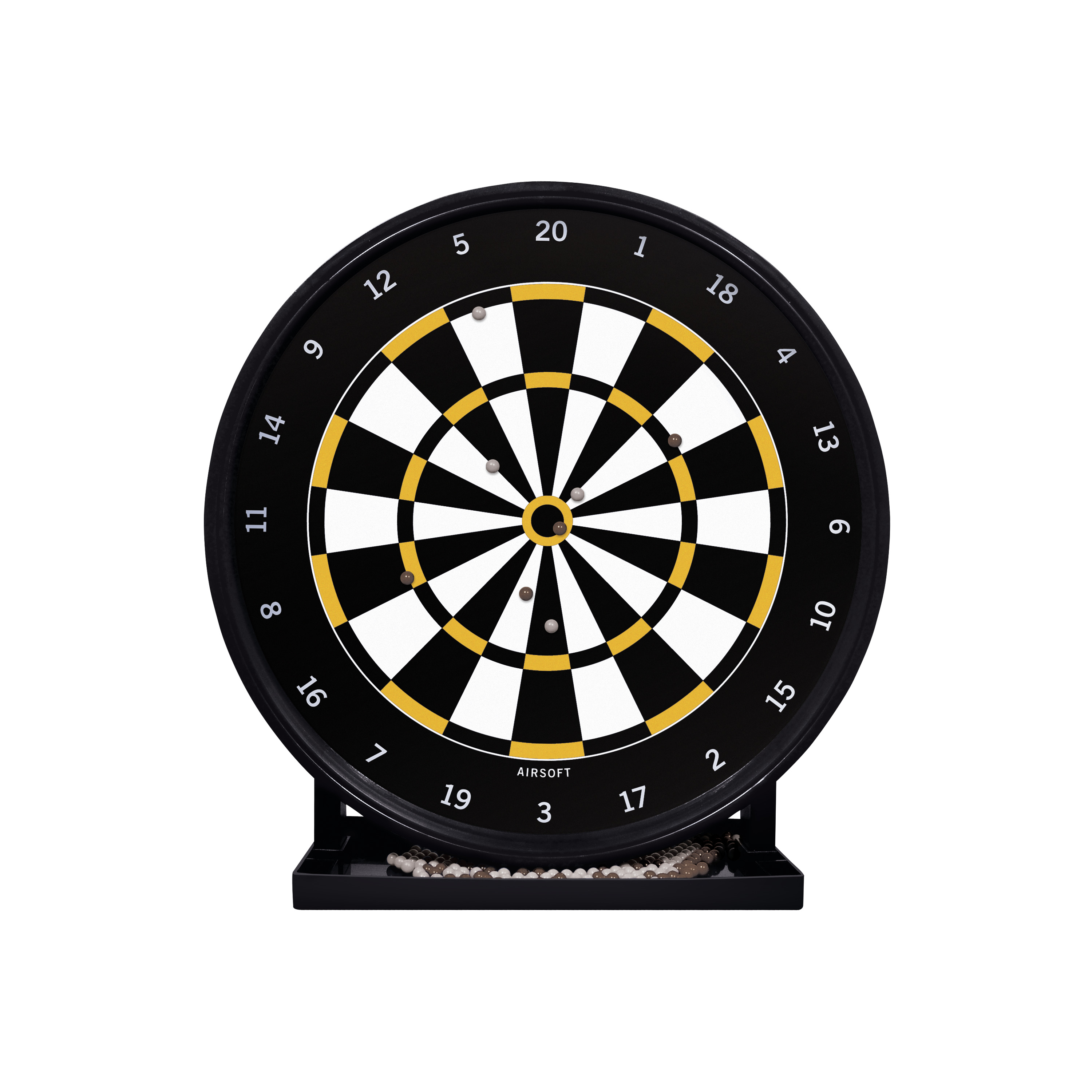 "Gameface Airsoft 12"" Gel Target Game with Trap SAGBT"