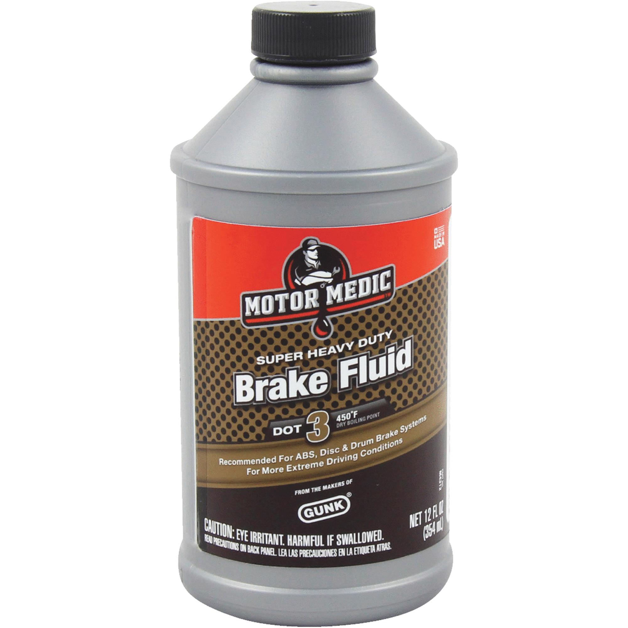 MotorMedic Super Heavy-Duty Brake Fluid