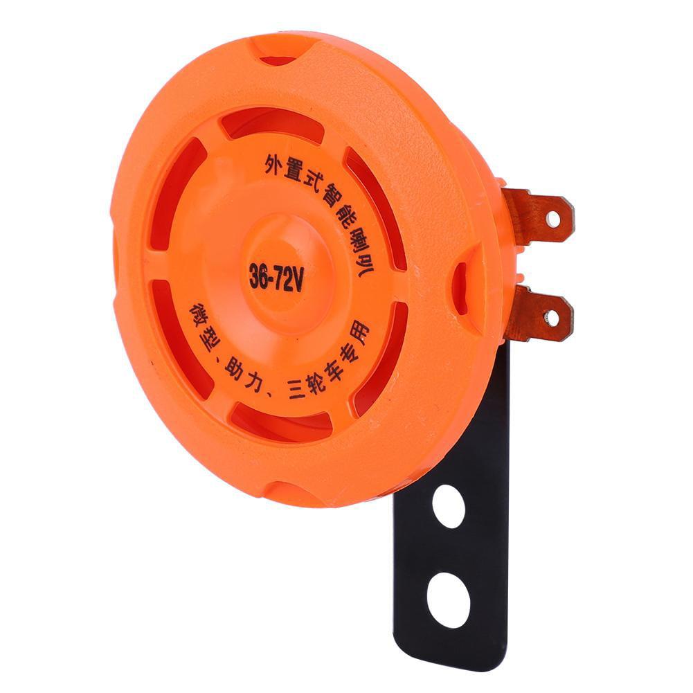 Electronic Horn,Waterproof Smart Electronic Horn Ring Bell For Electric Bike 36V//48V//60V//72V
