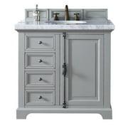 """James Martin Providence 36"""" Single Bathroom Vanity in Gray"""