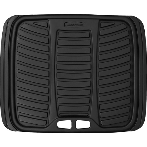 Rubbermaid All-Weather Rear Mat, Black