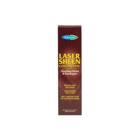 Farnam Laser Sheen Dazzling Shine & Detangler Concentrate 12 Ounces
