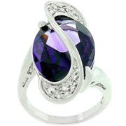 Sunrise Wholesale J2510 Amethyst World Wonder - Size 10