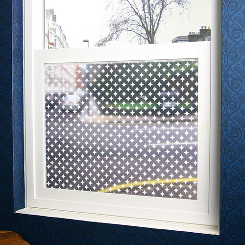 Stick Pretty Diamonds Sheer Decorative Window Film
