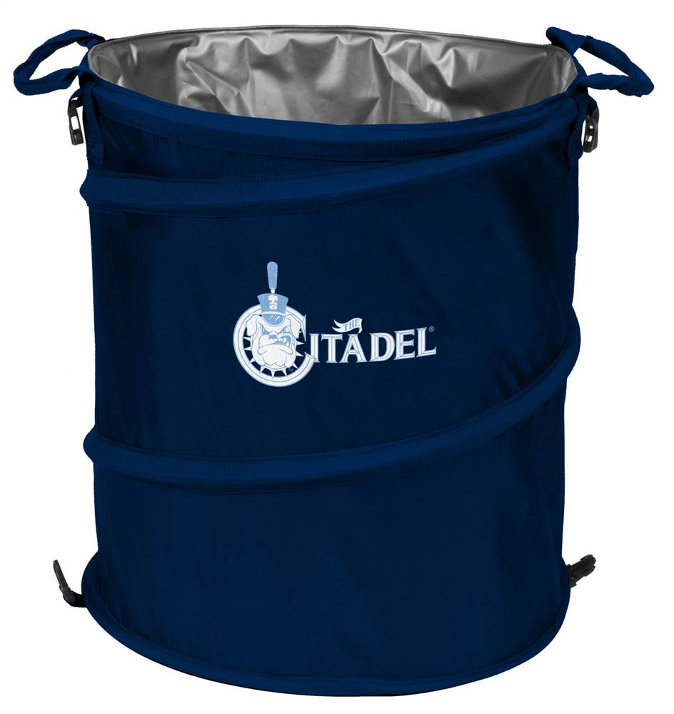 Citadel Bulldogs Three in One Cooler Hamper Wastebasket