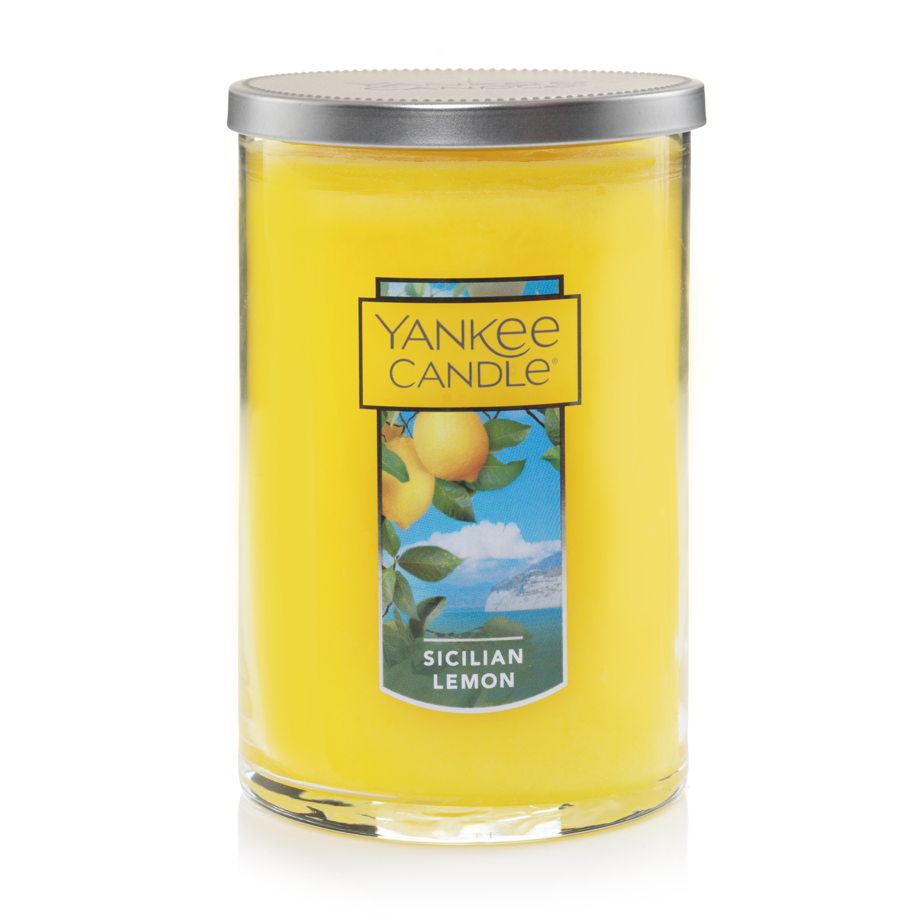 Yankee Candle Large 2-Wick Tumbler Scented Candle, Sicilian Lemon by Yankee Candle