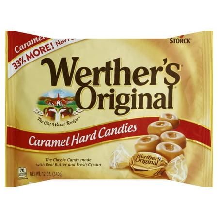 Werther's Original Caramel Hard Candies, 12 Oz. SUL05766