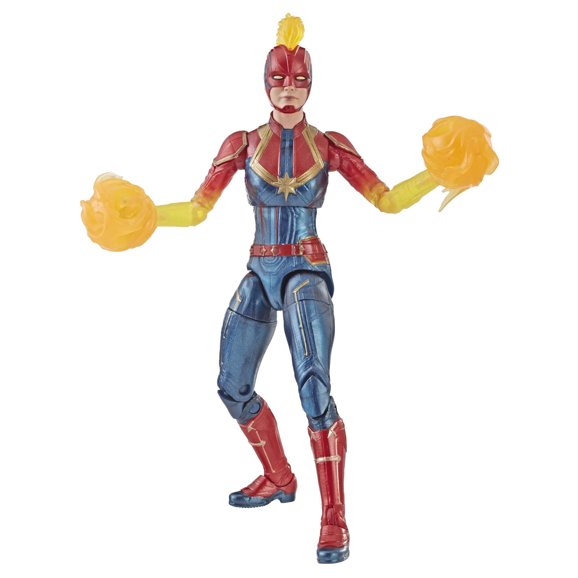"""Marvel Legends 6/"""" Inch Walmart Binary Form Captain Marvel Loose Complete"""