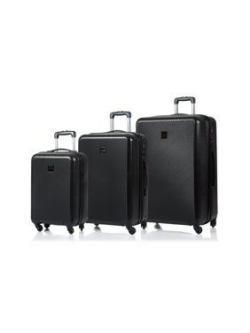 Champs Iconic Collection 3pc Hardside Expandable Luggage Set