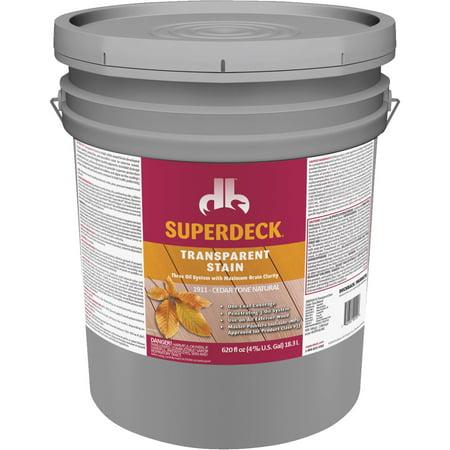 - Duckback SUPERDECK Transparent Exterior Stain