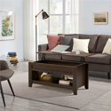 SmileMart Wooden Small Space Lift Top Coffee Table