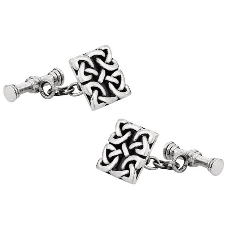 925 Sterling Silver Celtic Cufflinks