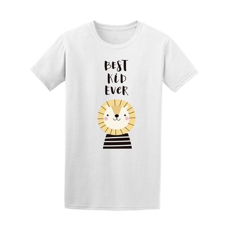 Funny Best Kid Ever Lion Men's Tee - Image by