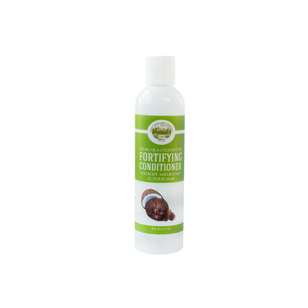 Fortifying Conditioner ,Jojoba Oil and Coconut Oil - 8 Oz - Sulfate Free - Best Treatment for Damaged & Dry Hair - Made with All Natural Organic Ingredients - For All Hair