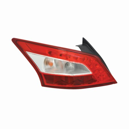 TYC 11-6582-00-1 Left Side Tail Light Assembly for 09-11 Nissan Maxima NI2800193 - Nissan Maxima Parking Light