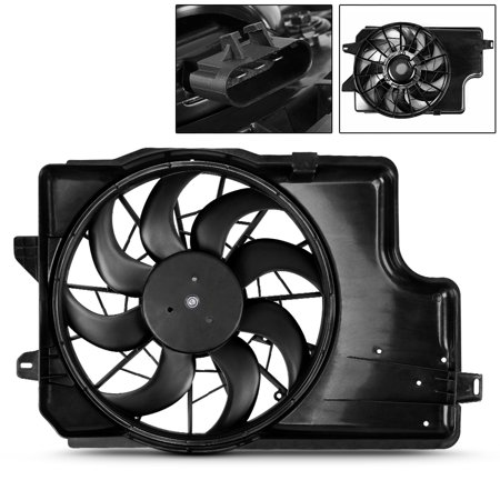 A/c Condenser Cooling Fan - A/C Condenser Radiator Cooling Fan For 1994-1996 Ford Mustang V6 3.8L FO3115129